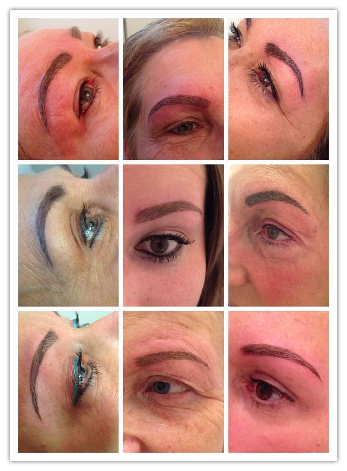 BROWNEYES plaatst mooie permanente make-up