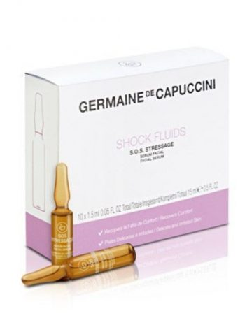 Germaine de Capuccini - Options Universe - Shock Fluids S.O.S. Stressage - 10 x 15ml