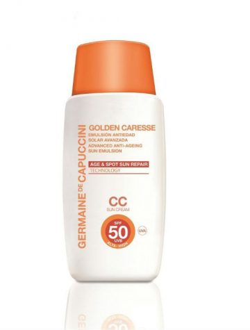 Golden Caresse Anti Age Emuslie SPF50 CC