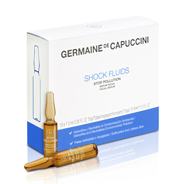Germaine de Capuccini -Shock Fluid Stop-Pollution 10x 1,5 ml