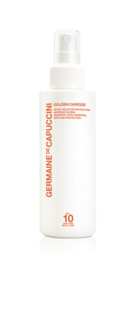 Germaine de Capucinni - Golden Caresse - Spray - SPF 10
