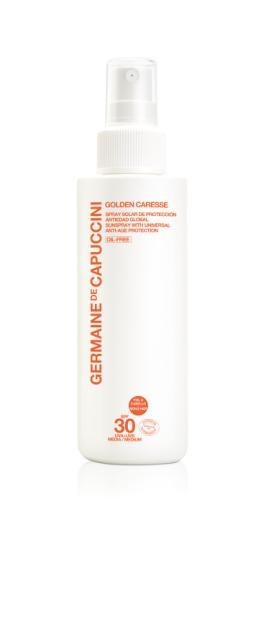 Golden Caresse Spray Anti-Age SPF 30 - Germaine de Capuccini